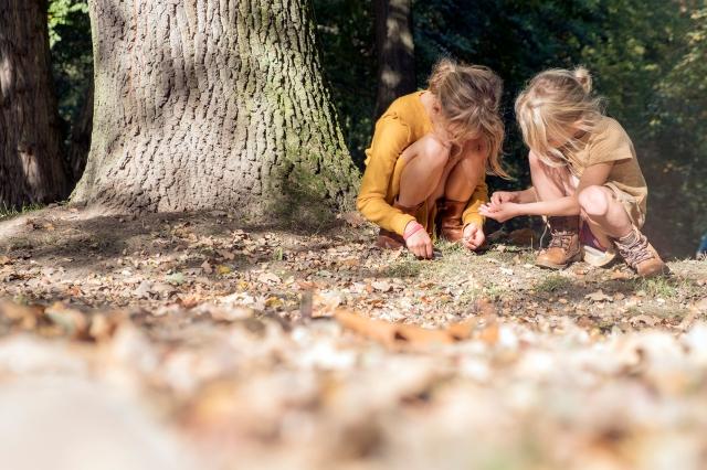 Elsbethfotografie Elsbeth Neyens herfst photoshoot bladeren